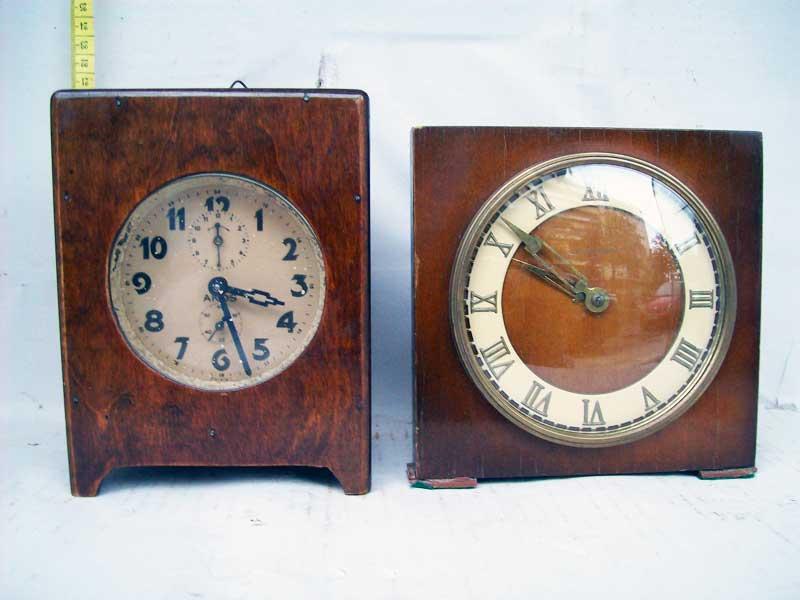 Επιτραπέζια ρολόγια ξύλινα αντίκες